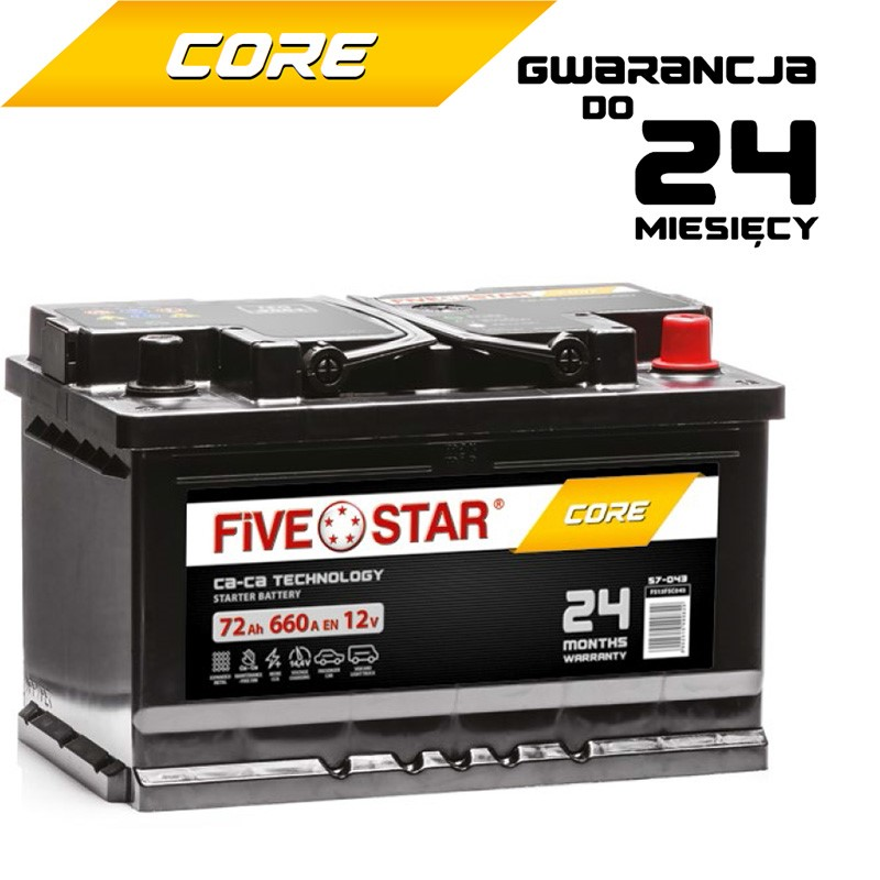 Five Star Core 72 Ah
