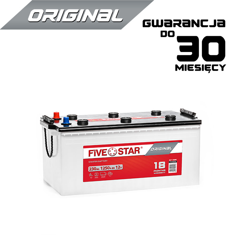 Five Star Original 230 Ah