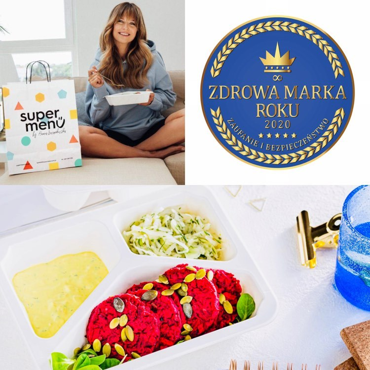 Catering SuperMenu by Anna Lewandowska otrzyma nagrod Zdrowa Marka Roku 2020