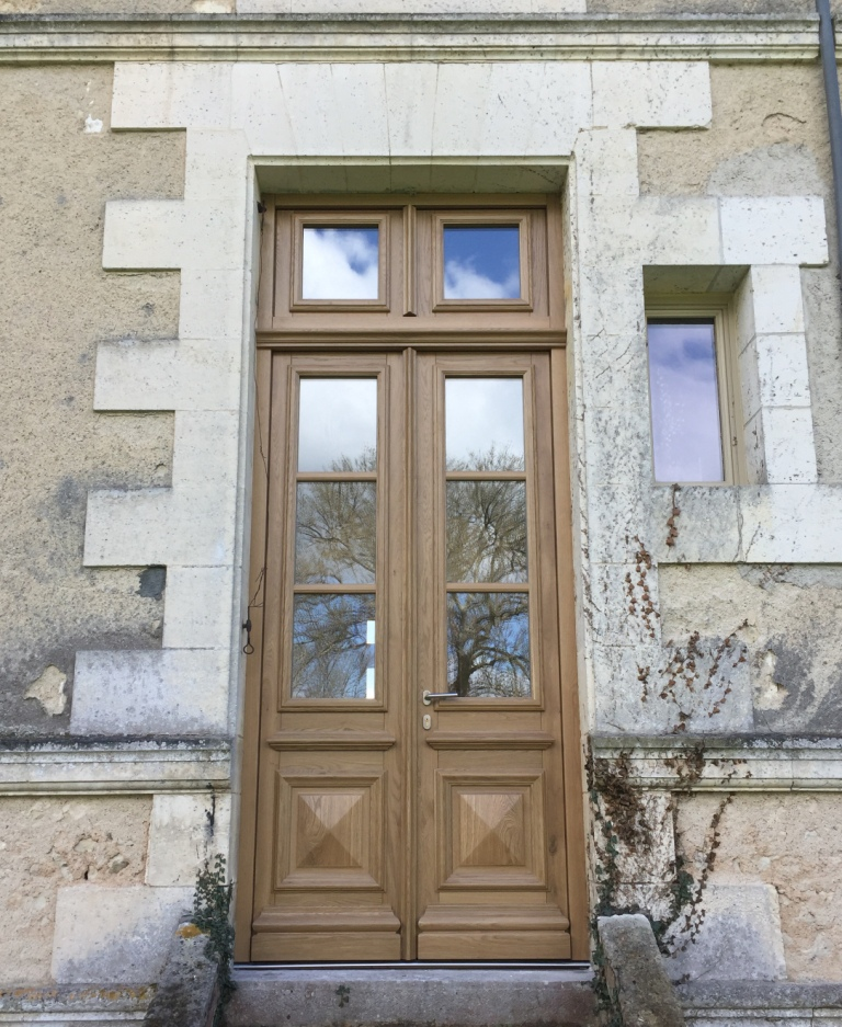 Chateau Oak Door