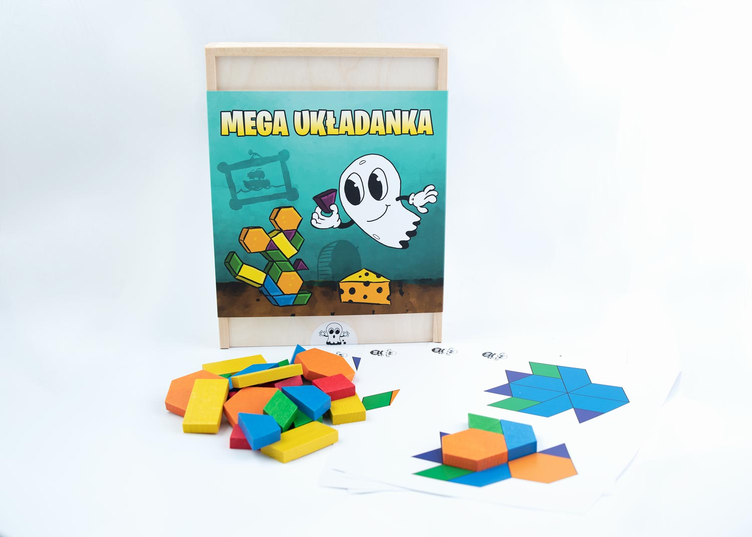 mega puzzle, wooden blocks, patern blocks,  toys, child to learn