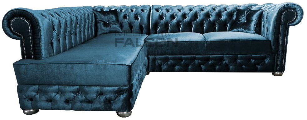 sofa narożna chesterfield do salonu producent