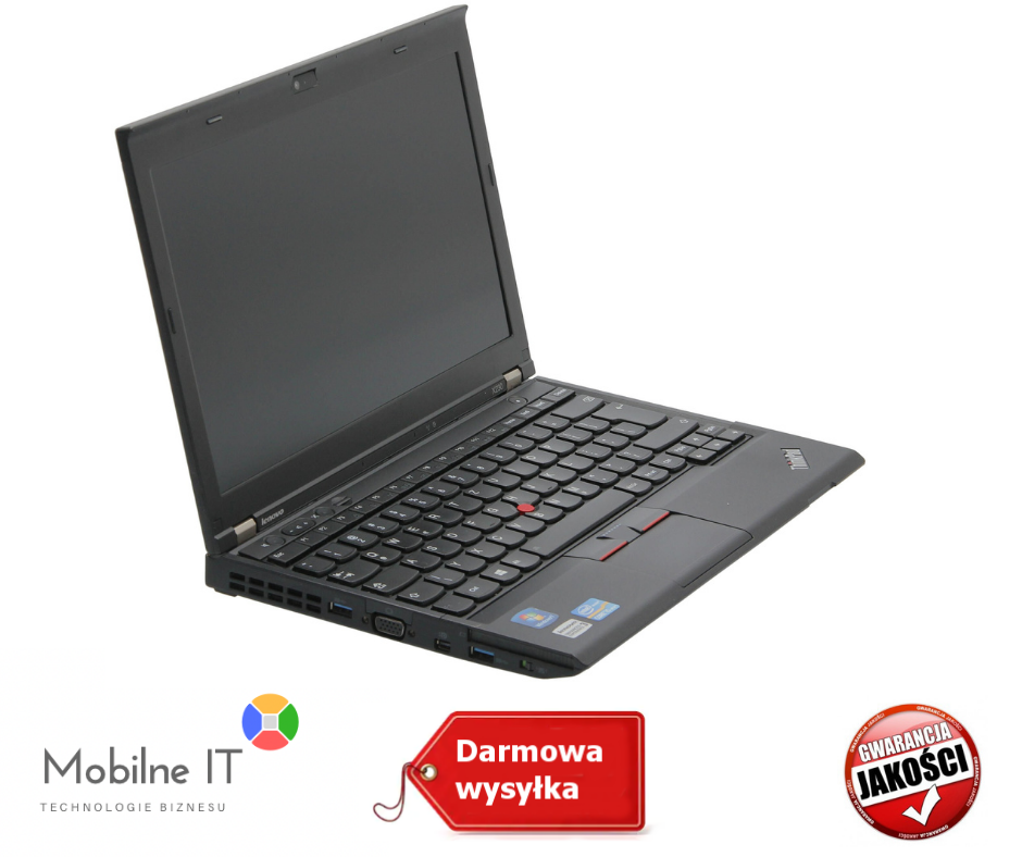 LENOVO ThinkPad x230 Core i5 16GB 500GB SSD W7/10