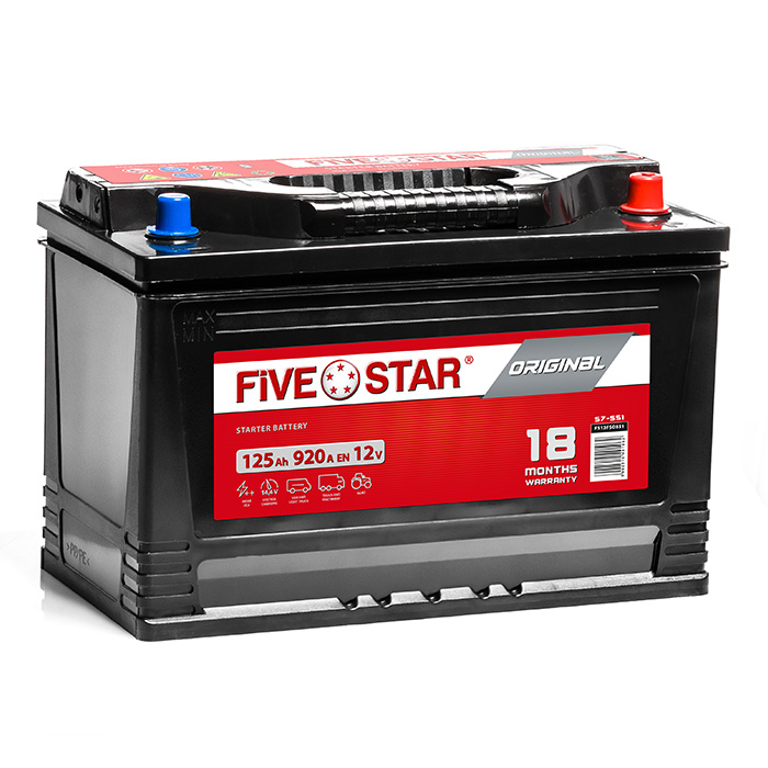 Five Star Original 125 Ah