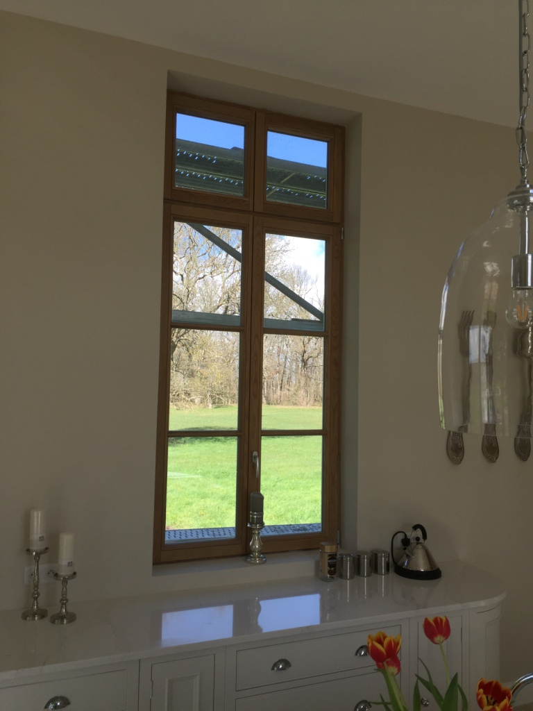 Wooden windows supply France