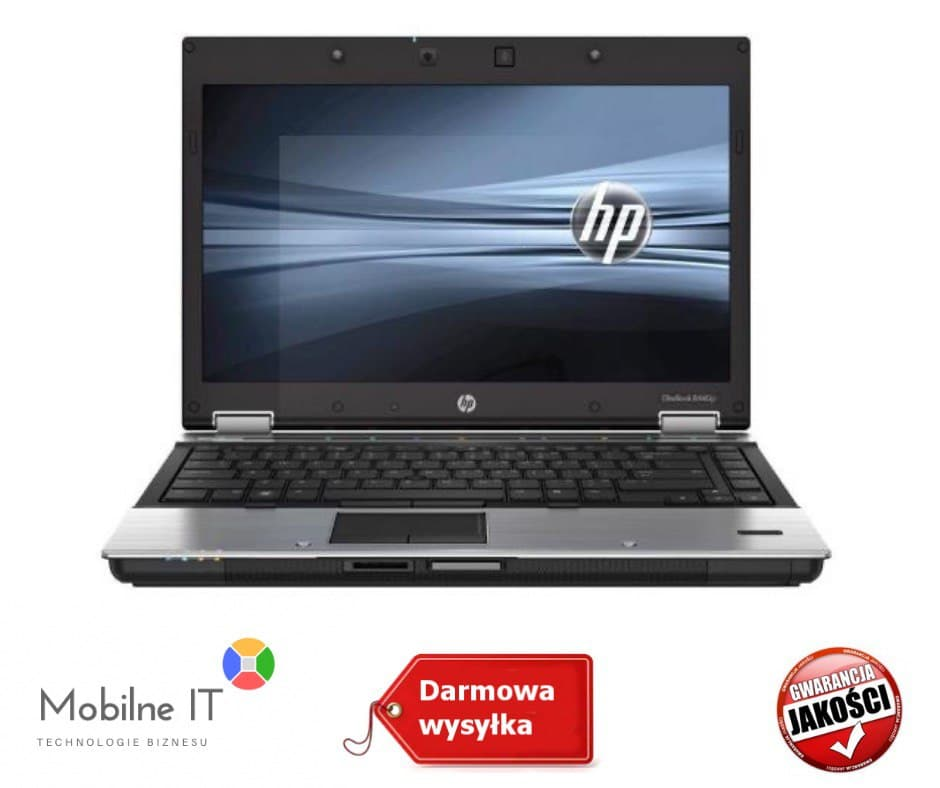 HP ELITEBOOK 8440P i5 4GB 120GB SSD 14'' KAM