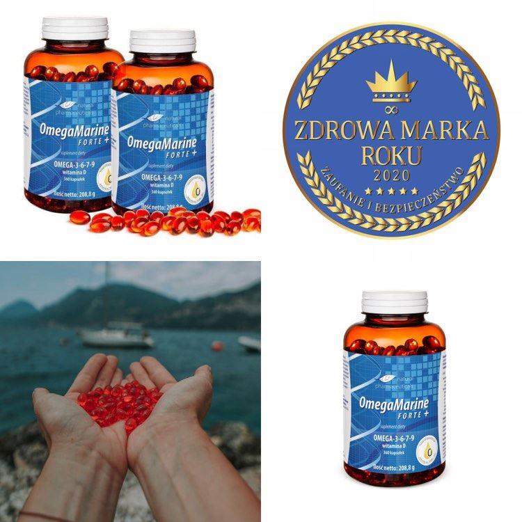 Przepis na zdrowie Waciwa dieta ycie w zgodzie z natur i OmegaMarine Forte Plus