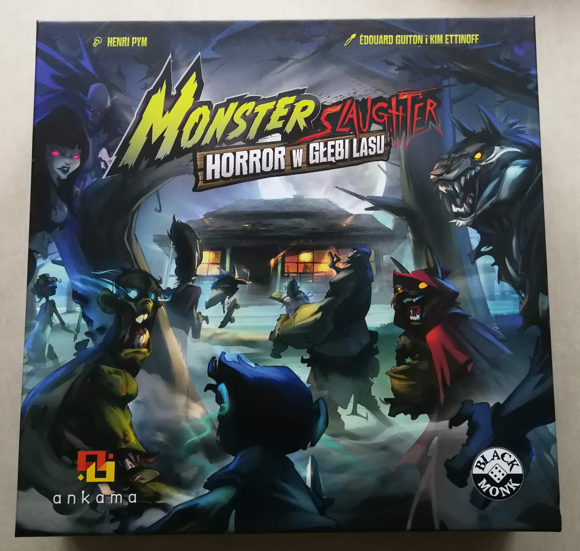 MONSTER SLAUGHTER: HORROR W GŁĘBI LASU