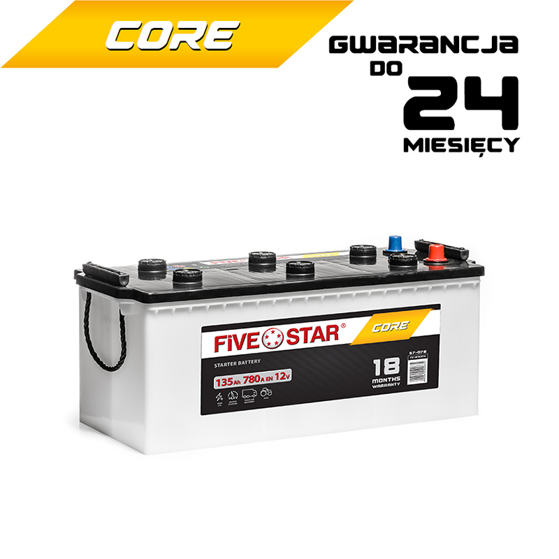 Five Star Core 135 Ah