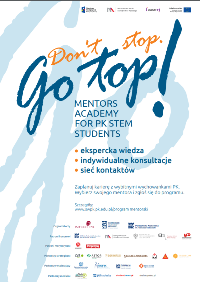 Plakat_Dont_Stop_Go_Top_program_mentorski_SWPKpng