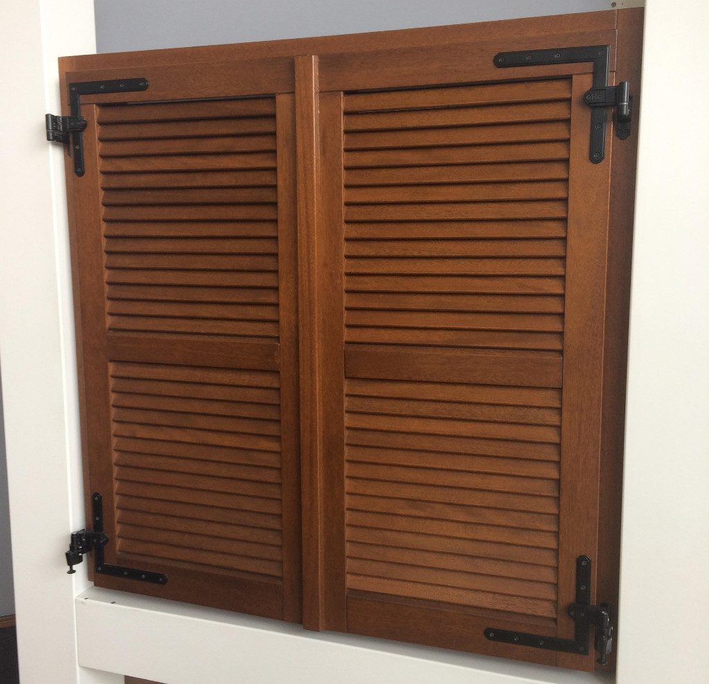 Wooden shutters supply France