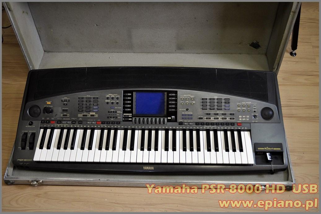 yamaha psr 8000 hd usb. Black Bedroom Furniture Sets. Home Design Ideas