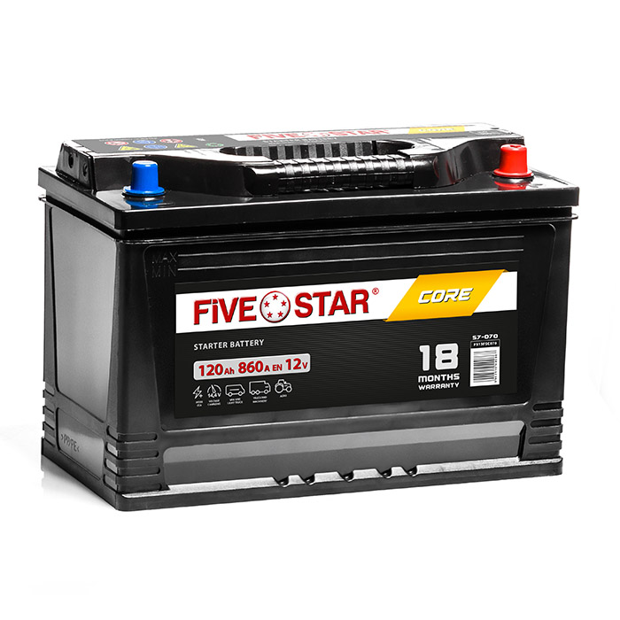 Five Star Core 120 Ah