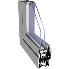 Aliplast window IMPERIAL I+
