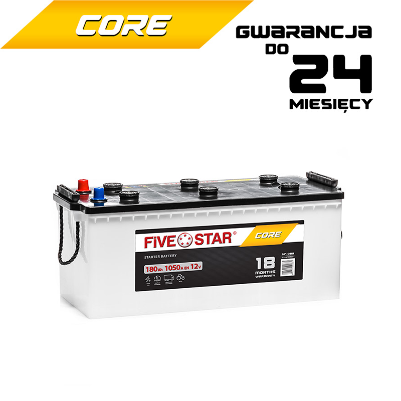 Five Star Core 180 Ah