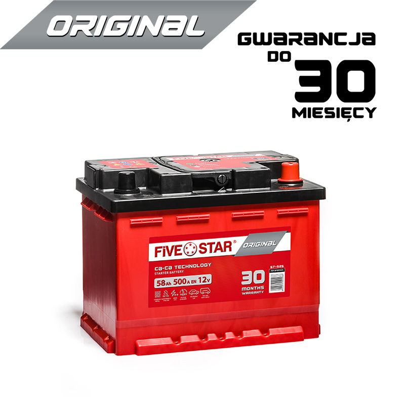 Five Star Original 58 Ah