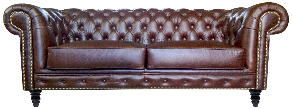 sofa kanapa chesterfield vintage producent tanio