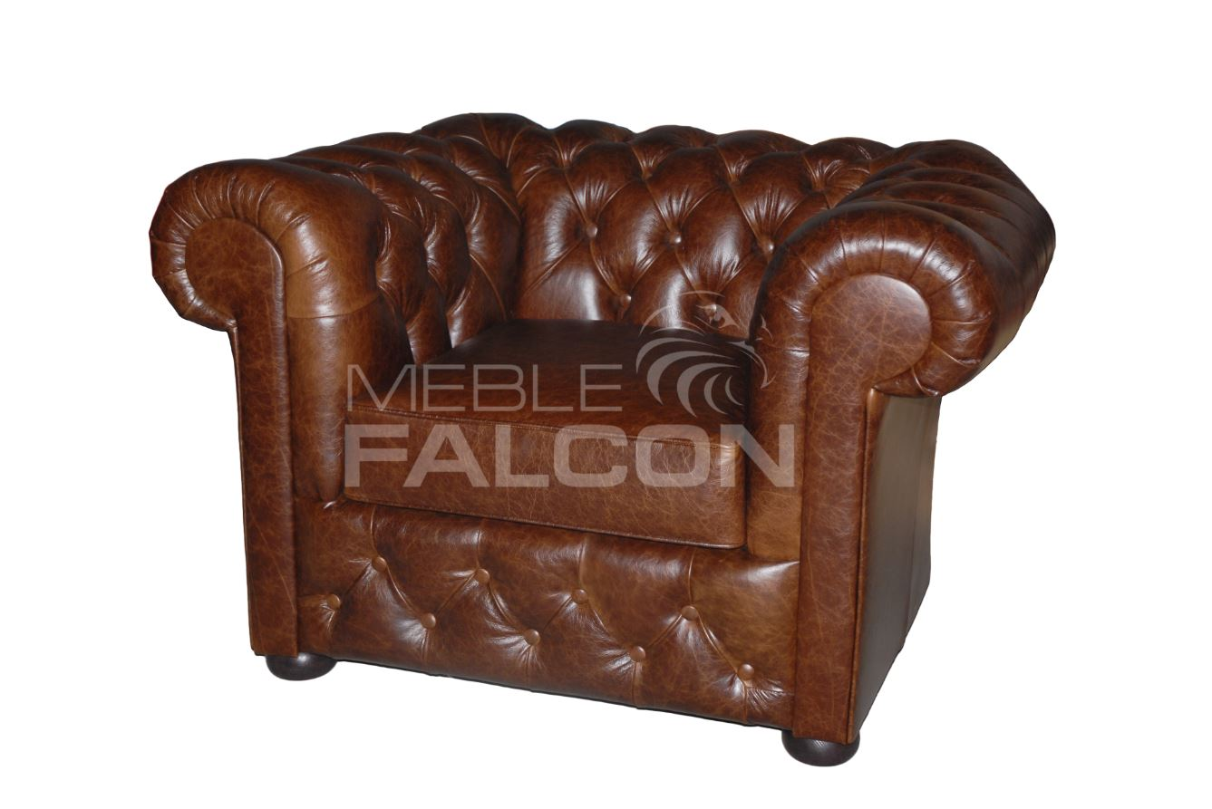 fotel chesterfield redford do salonu do gabinetu