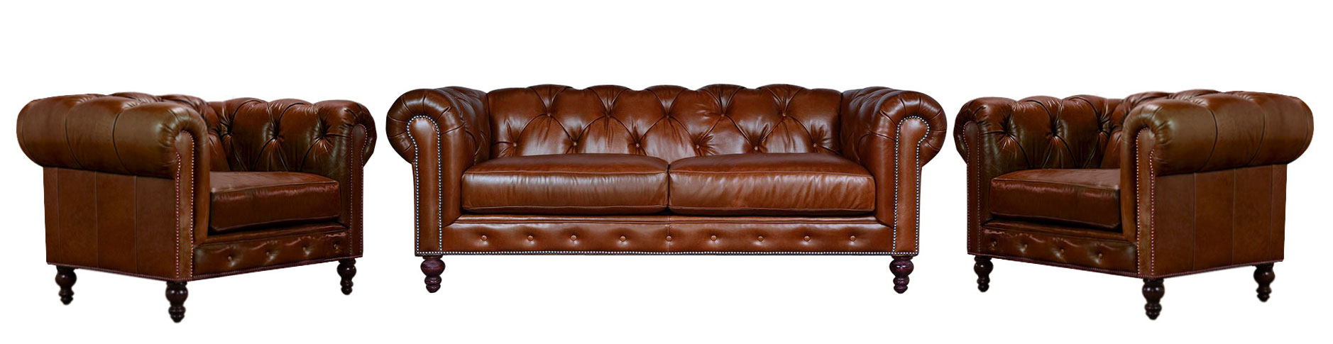komplet chesterfield