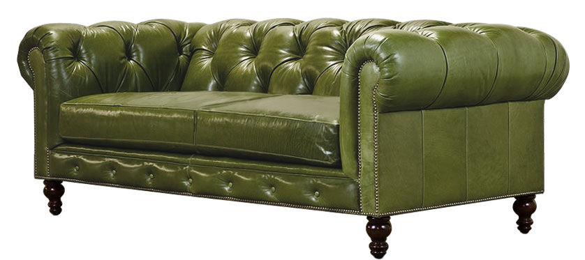 sofa w stylu chesterfield kunsztownie wykonana