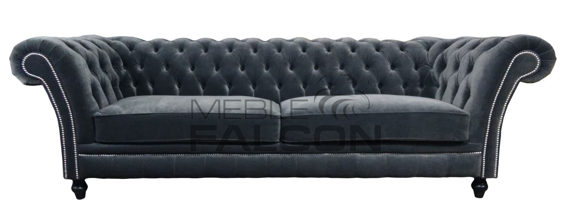 sofa chesterfield z pikowanym oparciem producent