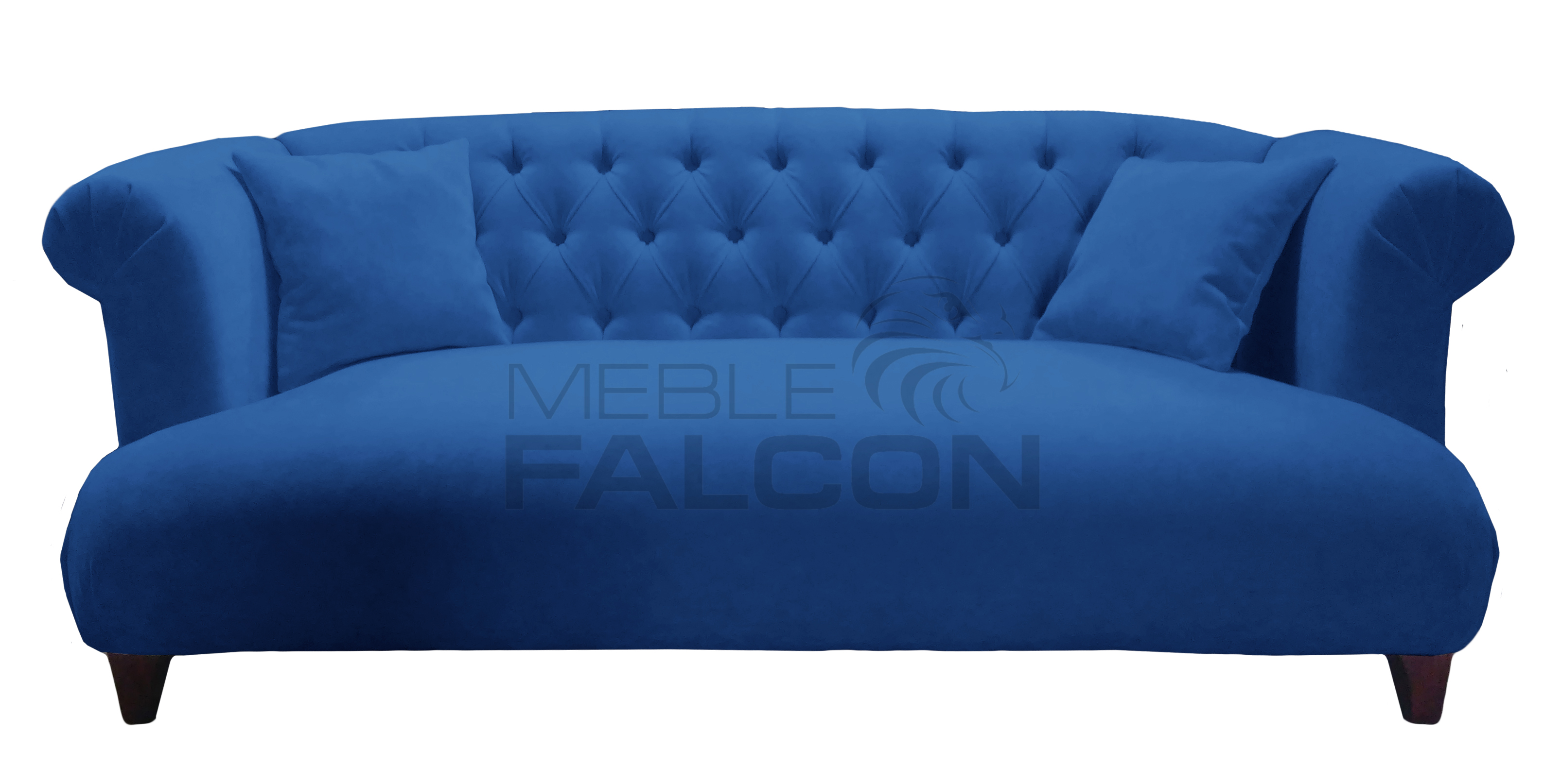 niebieska sofa chesterfield melodia producent