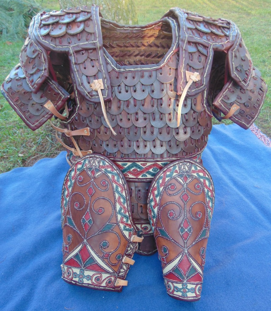 Numenorean armour and vembraces.