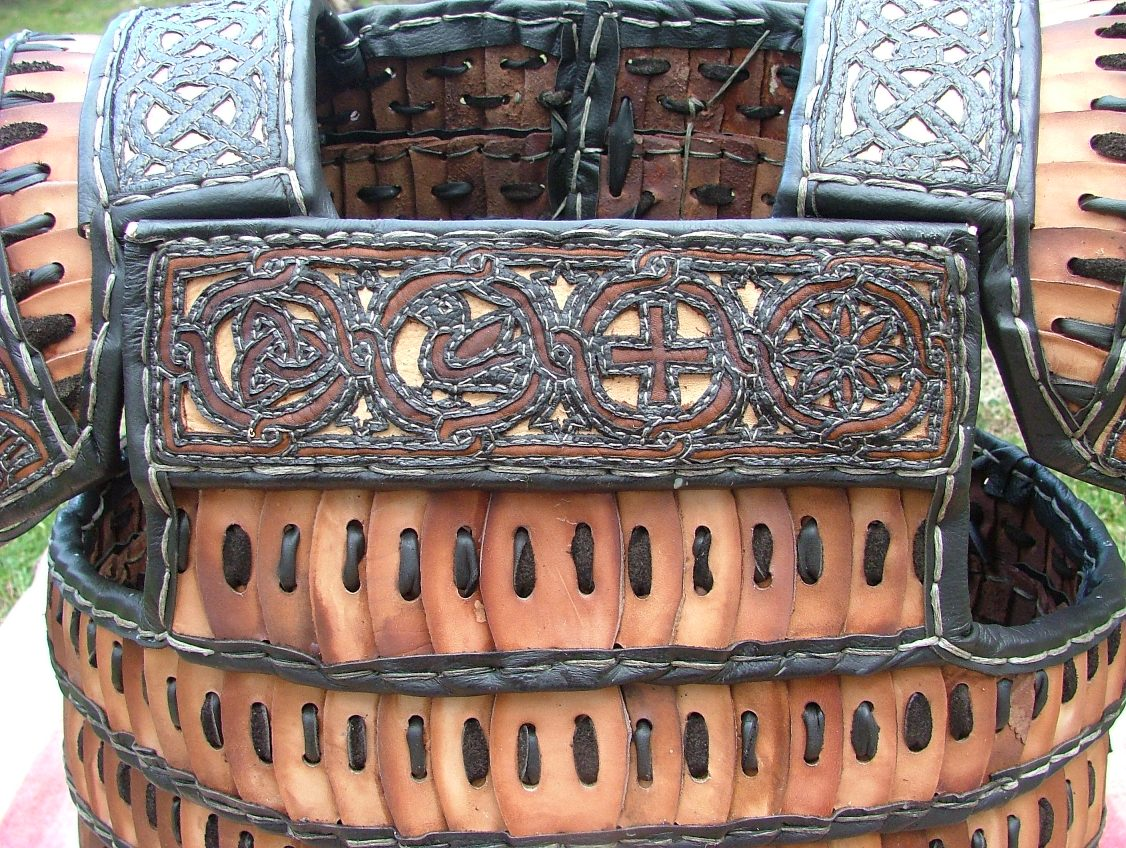 Longobard lamellar armour chest.