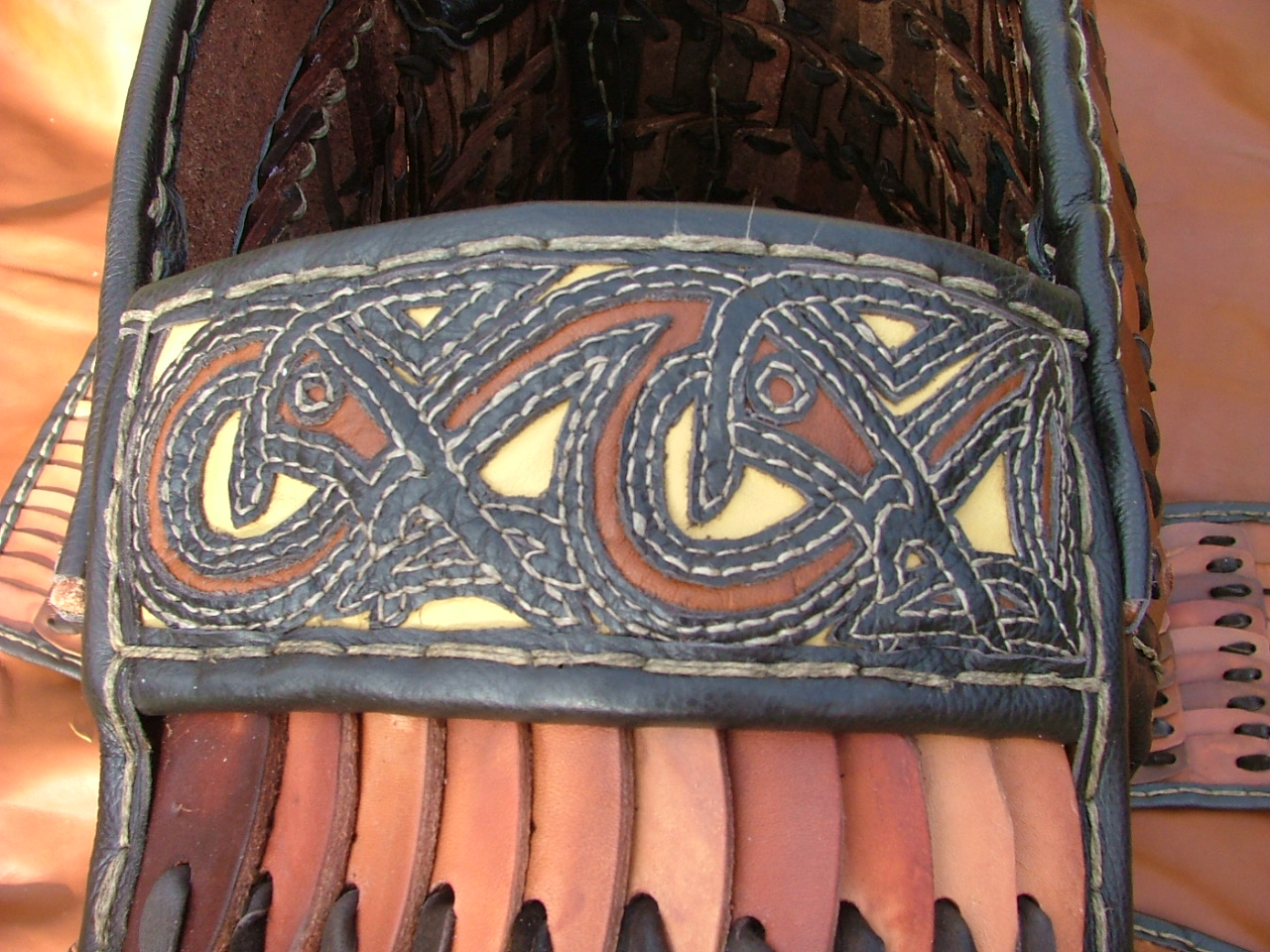 Gothlandic lamellar armour shoulder.