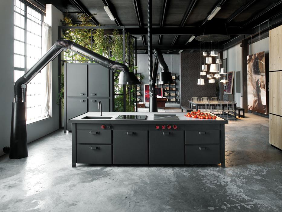 Kuchnia Industrialna Loftowa