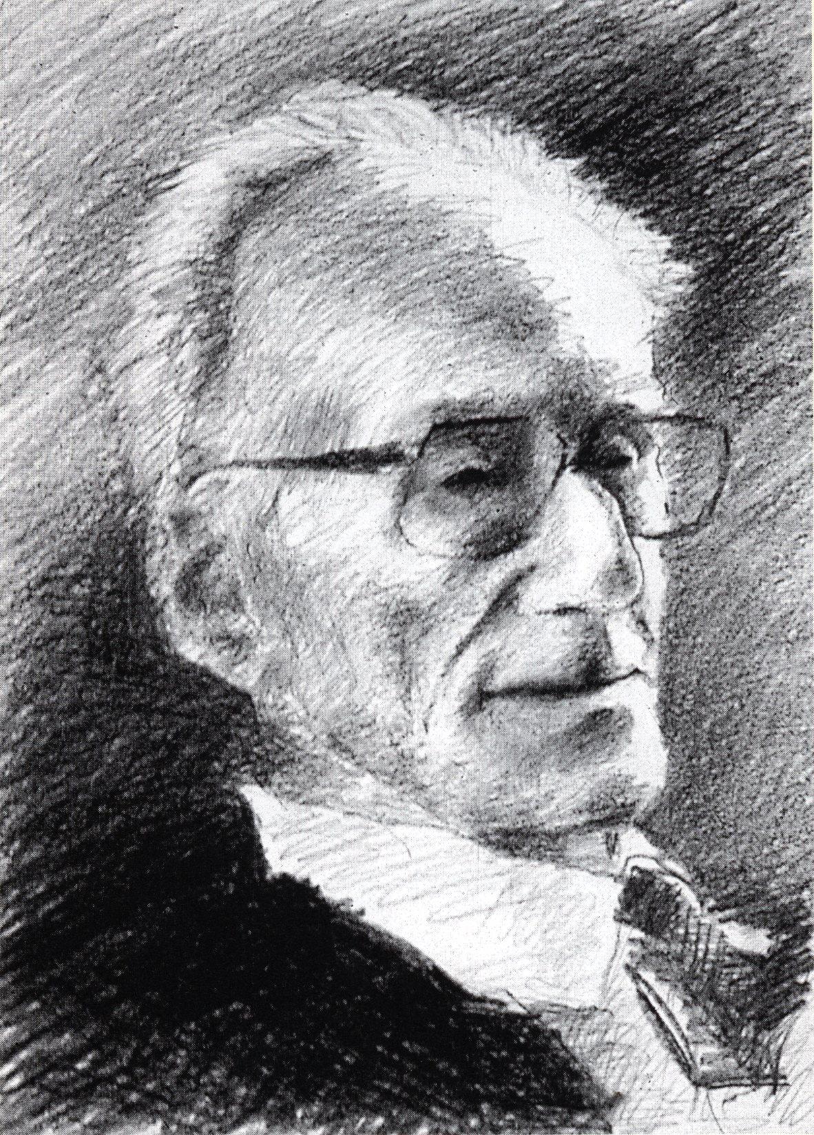 Krzysztof Jung, Portret Józefa Czapskiego
