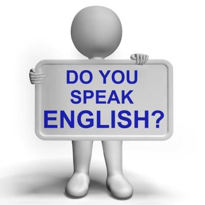 Obrazek pytający czy mówisz po angielsku