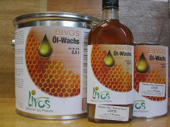 Bivos 375 wosk pynny do konserwacji drewna oraz cegy