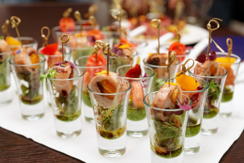 Catering for Canape aperitif marmiton