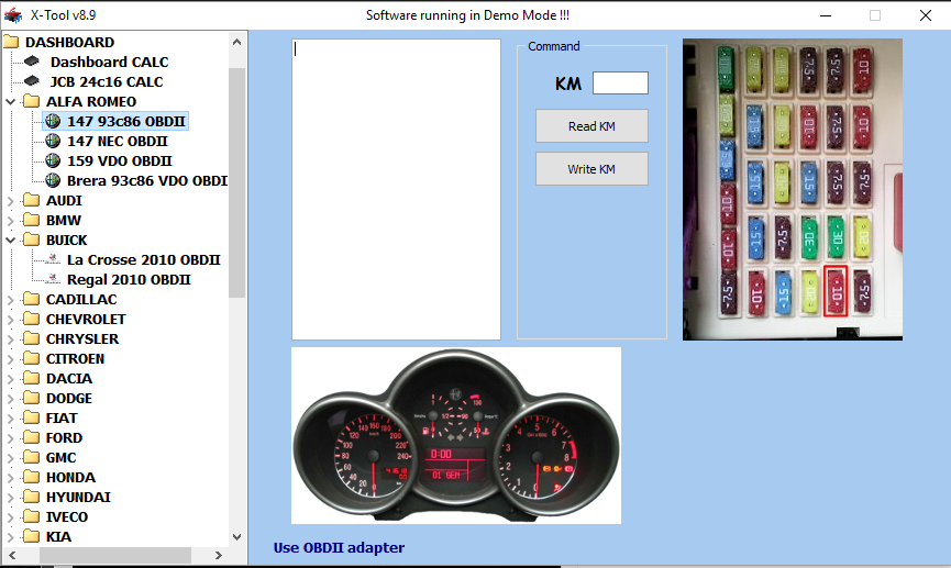 Car list supported alfa romeo 147 93c86 obdii readwrite km by obdii fandeluxe Gallery