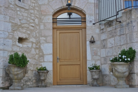 Chateau Front Oak Door