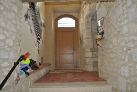 Chateau Oak Arch Door
