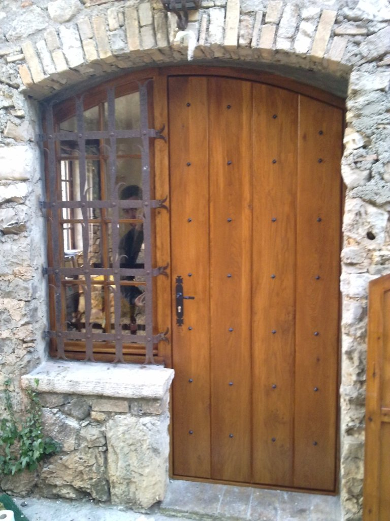 House oak door