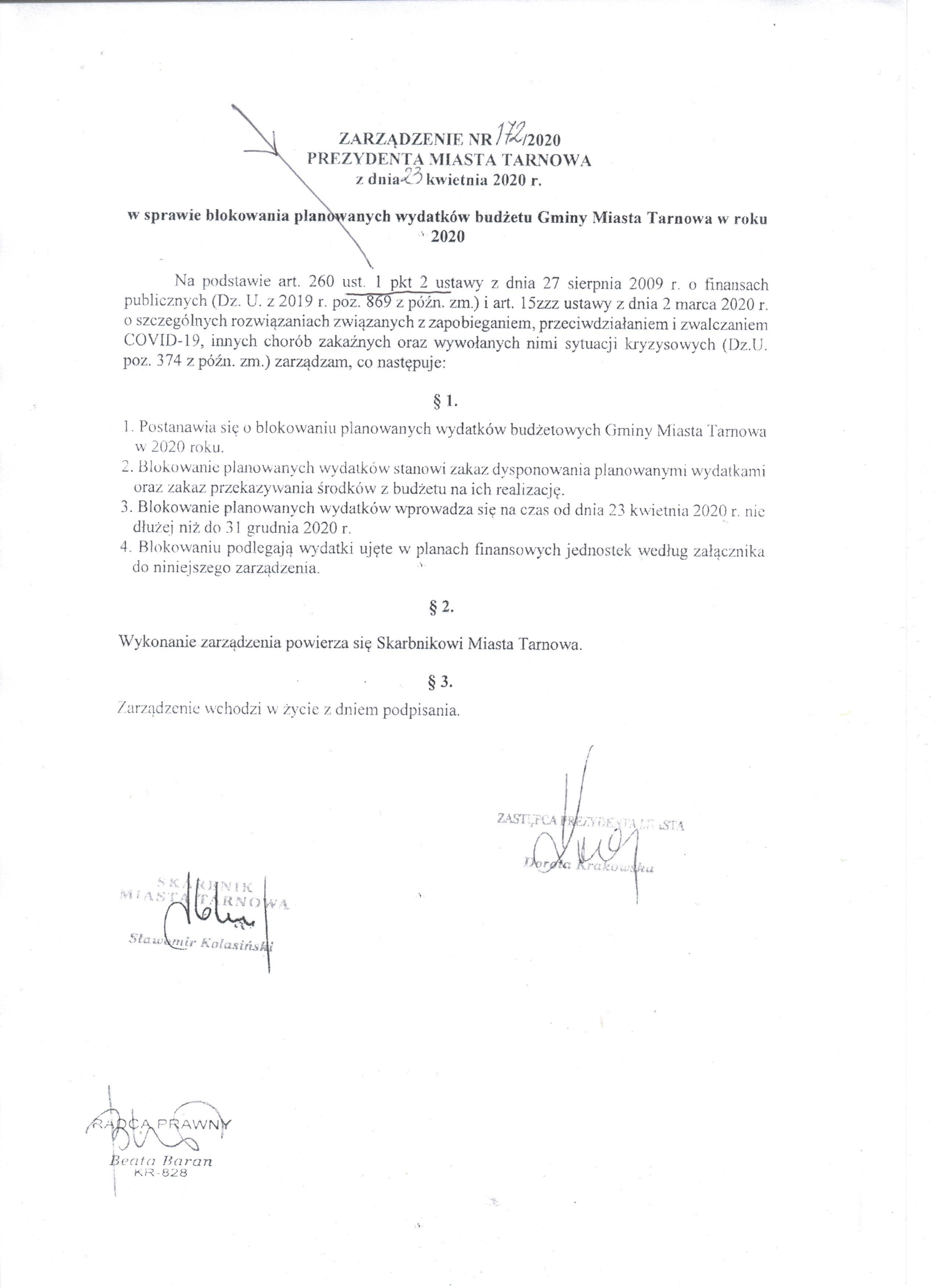2  zarzadzenie prezydenta z 23 kwietniajpeg