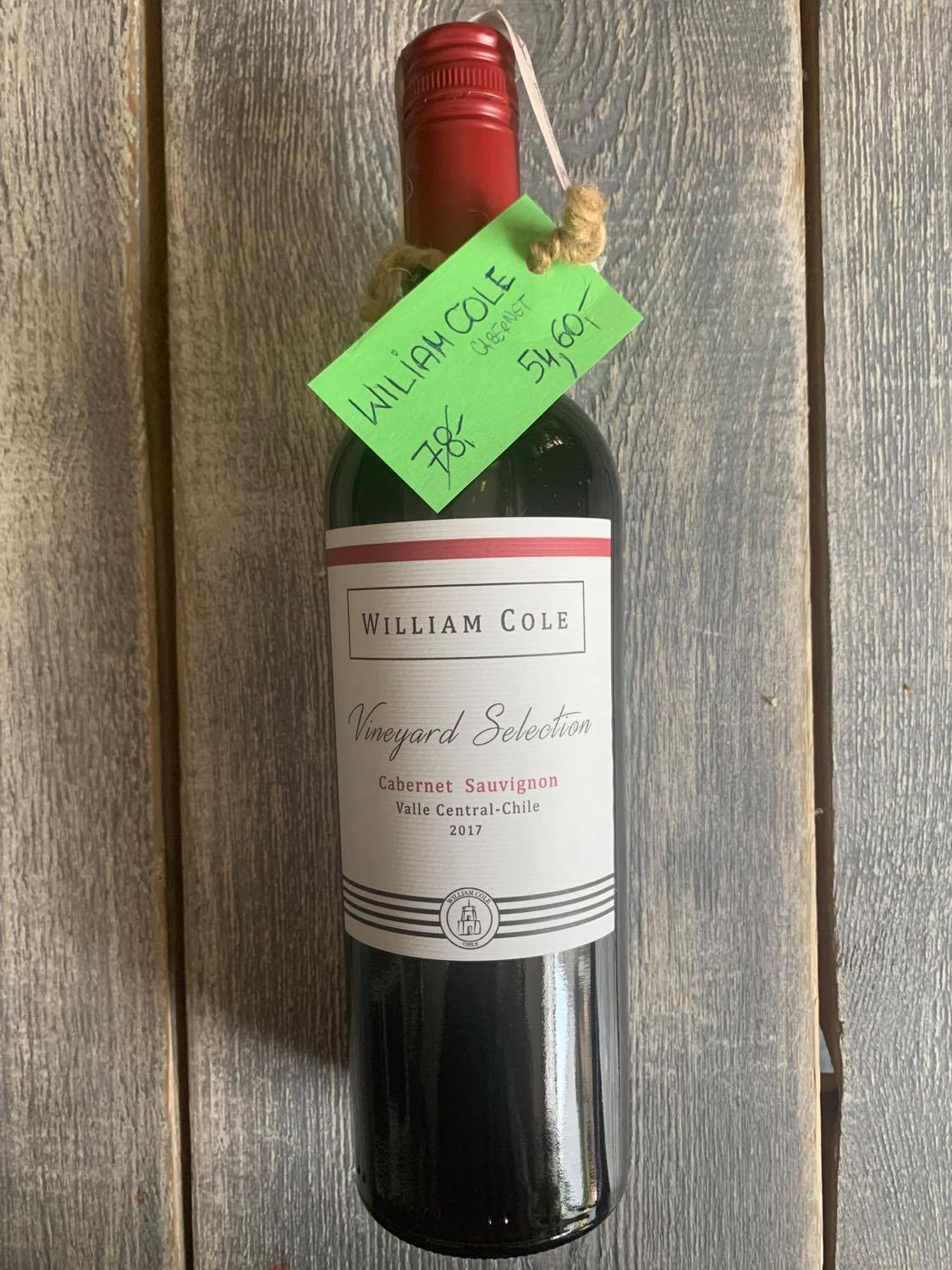William Cole Vineyard Selection Cabernet Sauvignon