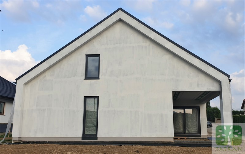 Nowy Sącz - frame wood house construction building shell 228,30m2