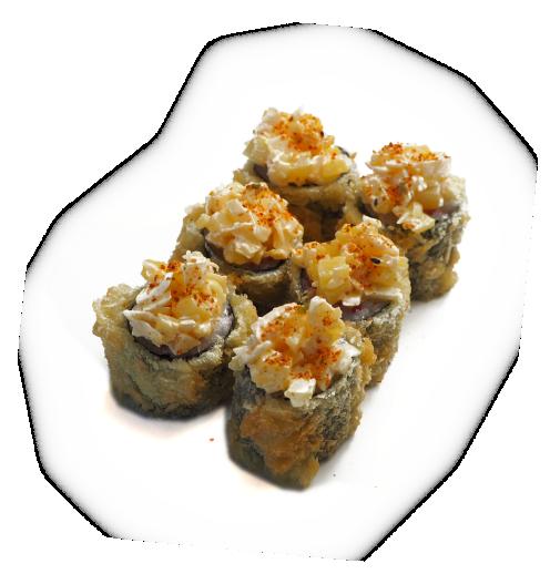 New style tempura makipng