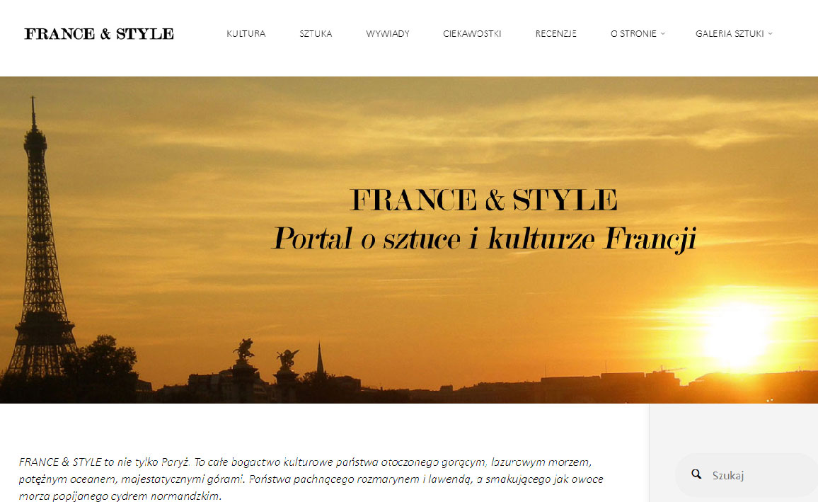 Artykuł franceandstyle.pl