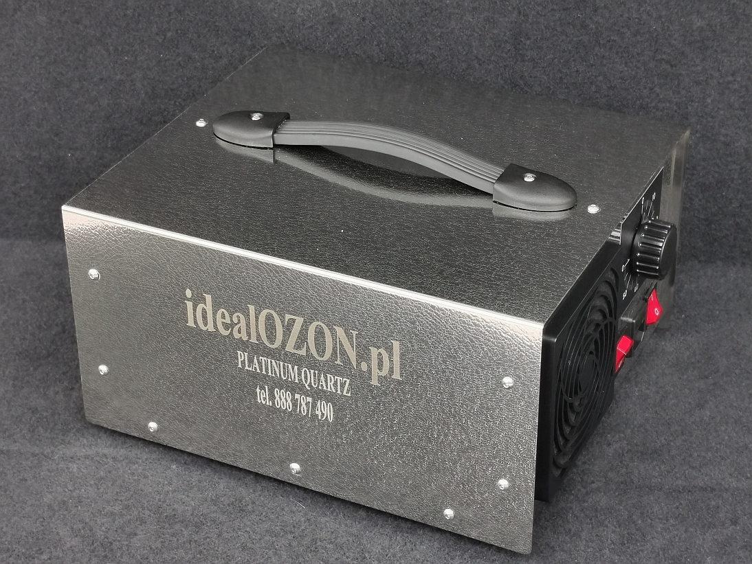 Ozonatory polskie NR1 - kwarcowe producent idealOZON PLATINUM QUARTZ