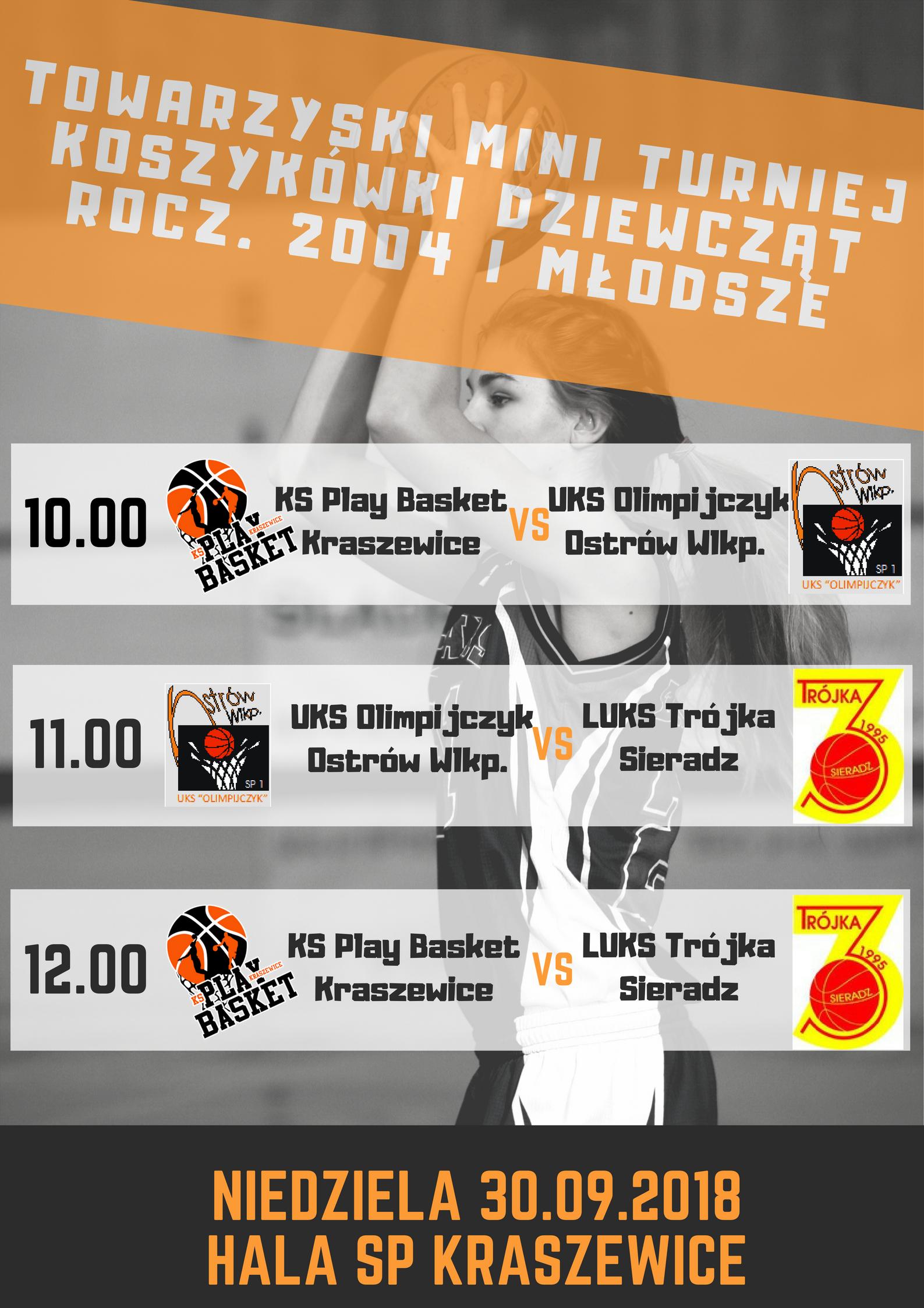 towarzyski mini turniej koszykwki dziewczt U-15png