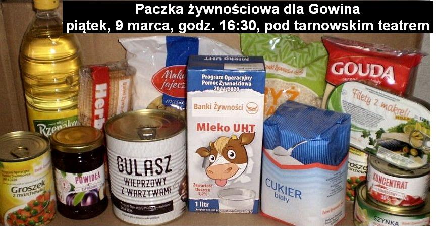 paczka dla Gowina pitek g1630 teatrjpg