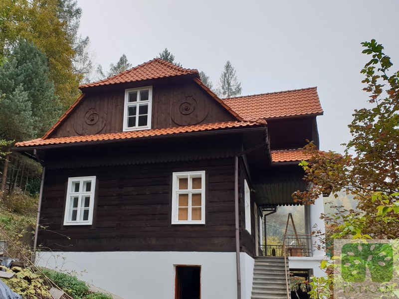 Muszyna - Historical wooden building rennovation & impregnation 234,60m2