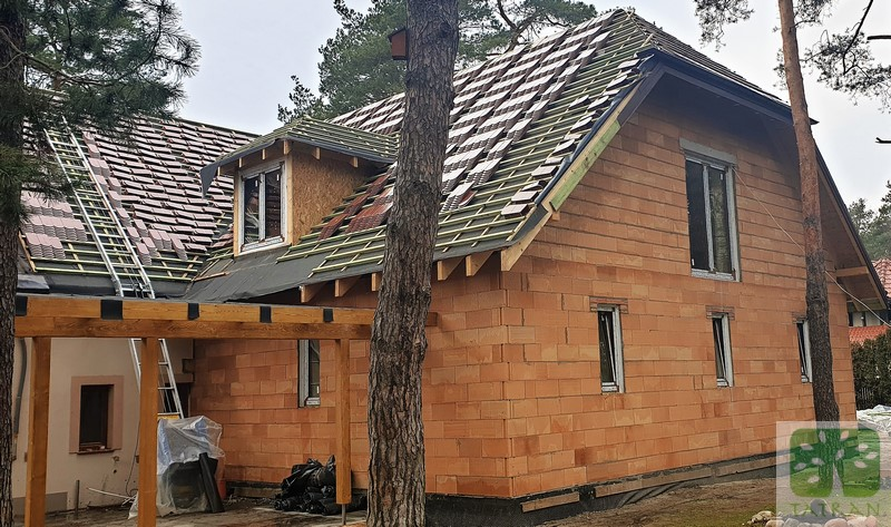 Józefów - delivery prefabricated wooden roof construction