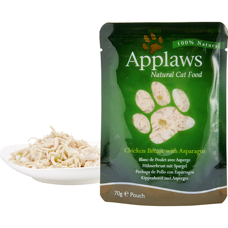 AppCat70gBrothPouch_PouchWithFood_ChickenAsparagus_PETJPG