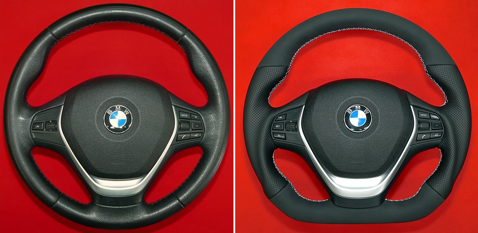 BMW F20 F30 Sport steering wheel customs tuning MPerformance